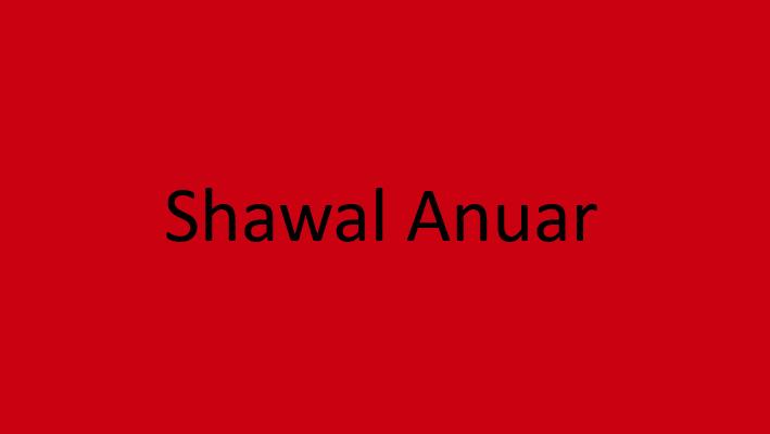 Shawal Anuar